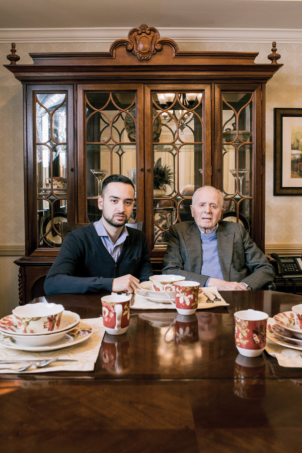 Andrew Waldan and his father Oscar Waldan the founder of Waldan International Andrew took over as the CEO of the Waldan brand when his father passed away in January 2018