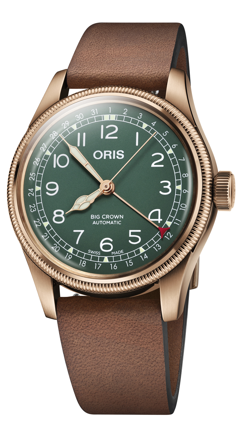01 754 7741 3167 07 5 20 58BR Oris Big Crown Pointer Date 80th Anniversary Edition HighRes 9251